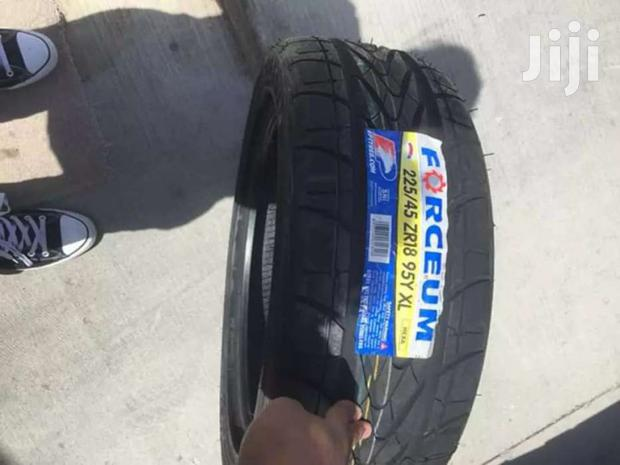 225/45/18 Forceum Tyres Is Made In Indonesia