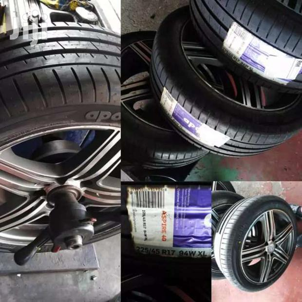 225/45/17 Apollo Tyres Is Made In India