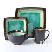 Gibson Everyday Ocean Oasis 24-piece Dinnerware Set, Turquoise | Kitchen & Dining for sale in Nairobi, Nairobi Central