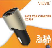 Vidvie Fast Car Charger CC507, 3.1A - 2 USB Port With Usb Cable | Vehicle Parts & Accessories for sale in Nairobi, Nairobi Central
