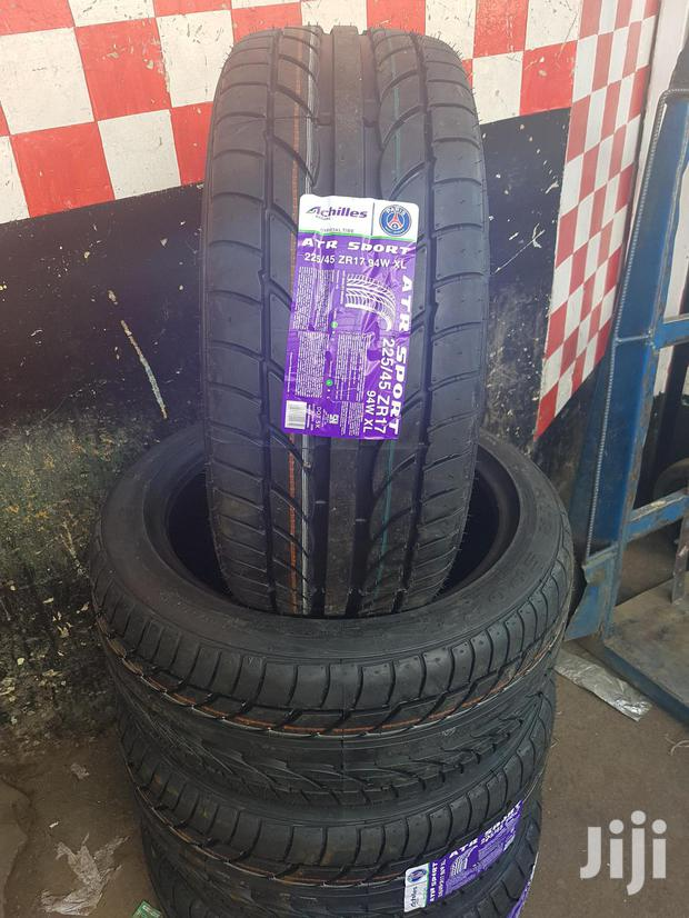 225/45/17 Achilles Tyres Made In Indonesia