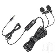 BOYA BY-M1DM Dual-head Lavalier Lapel Mic Microphone Mobile PC Camera | Audio & Music Equipment for sale in Nairobi, Nairobi Central