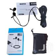 BOYA BY-LM400 Professional Clip-on Dual Omnidirectional Lavalier Mic | Accessories & Supplies for Electronics for sale in Nairobi, Nairobi Central