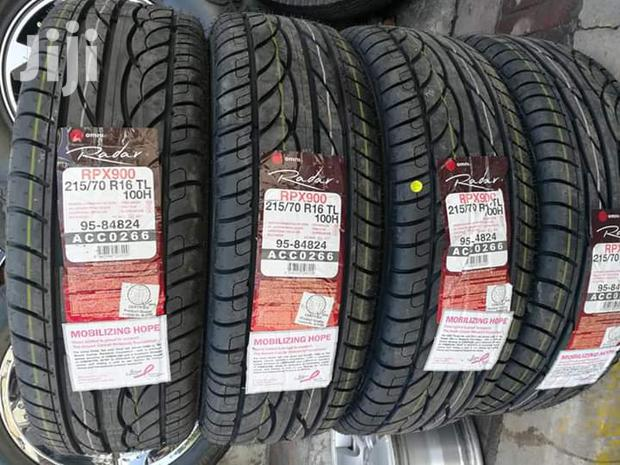 215/70/16 Radar Tyre's Is Made In Indonesia