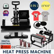 Approved 8 In 1 Combo Heat Press Machine, Sublimation Machine | Printing Equipment for sale in Nairobi, Nairobi Central