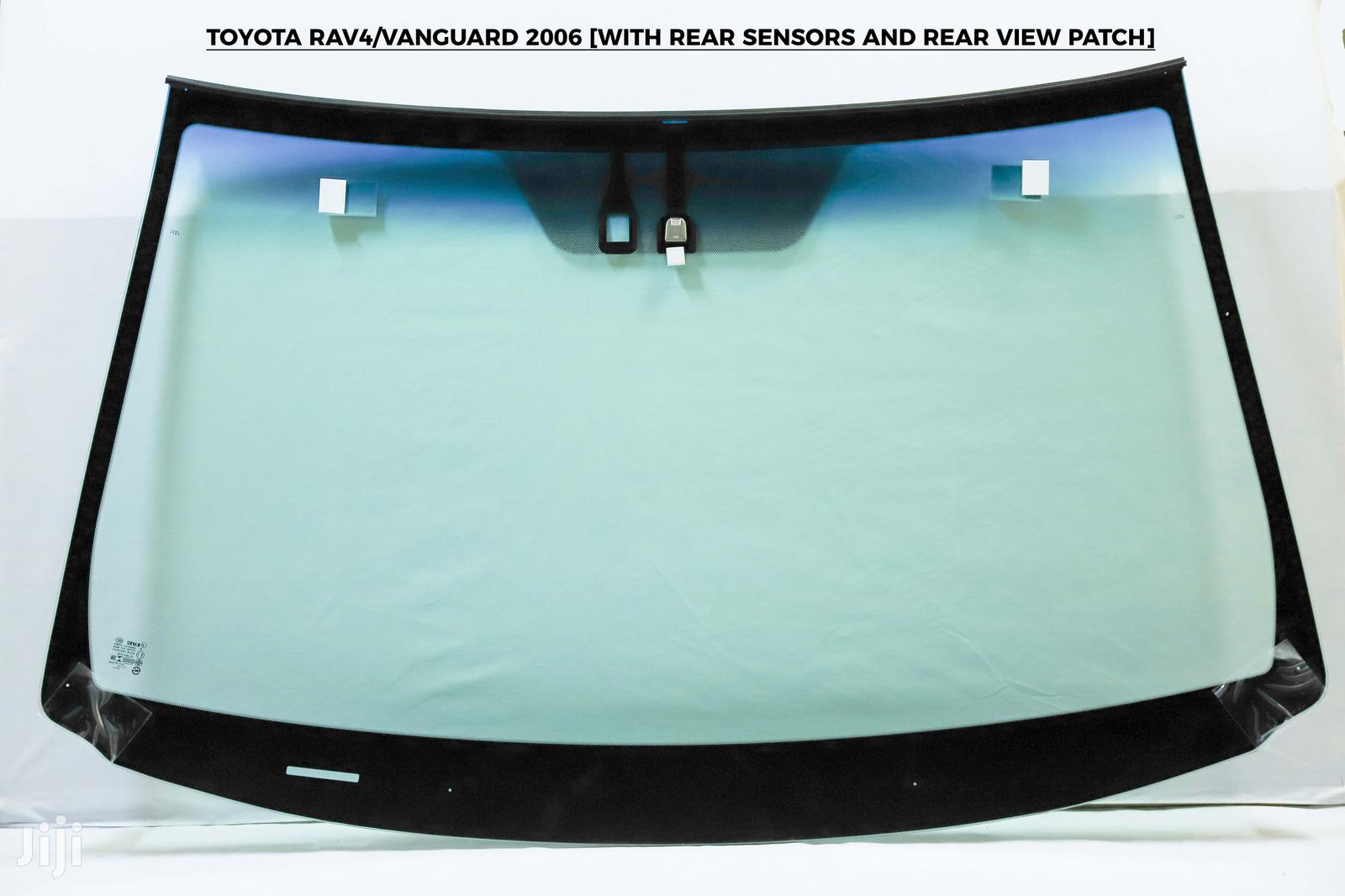 Archive: Toyota Rav4 Vanguard 2006 With Rear Sensors And Rear View Patch
