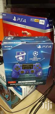 Ps4 Controller Ps4 Pad Blue Wireless Limited Edition UEFA Customised | Accessories & Supplies for Electronics for sale in Nairobi, Nairobi Central