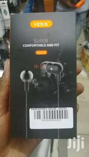 VIDVIE HS629 Wired Super Bass In Ear 3.5mm Stereo Earphones Wt Mic  | Headphones for sale in Nairobi, Nairobi Central