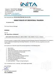 Part NGO Jobs Internship | Engineering & Architecture CVs for sale in Mombasa, Bamburi