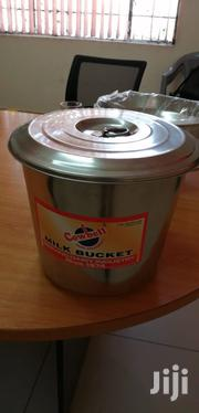 Milk Bucket With Lid Cover Stainless Steel | Farm Machinery & Equipment for sale in Nairobi, Nairobi South