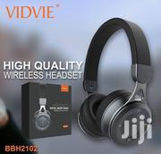 Vidvie BH2102 Heavy Bass Smart Wireless Headphones Bluetooth Headset | Headphones for sale in Nairobi, Nairobi Central