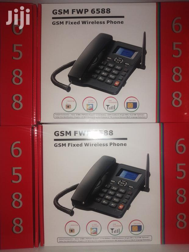 Archive: Gsm Fwp 6588, Gsm Fixed Wireless Phone
