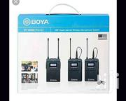 BOYA Dual Channel Wireless Lapel Microphone | Audio & Music Equipment for sale in Nairobi, Nairobi Central