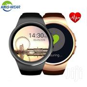 Kingwear KW18 Smartwatch Phone With Heart Rate Monitor | Smart Watches & Trackers for sale in Nairobi, Nairobi Central
