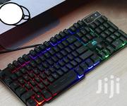 Backlit Gaming Wired USB LED Illuminated Film Ergonomic Keyboard | Computer Accessories  for sale in Nairobi, Nairobi Central