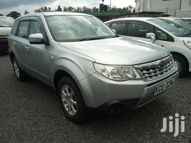 Archive: Subaru Forester 2012 2.0D XC Silver