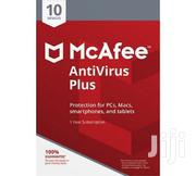 McAfee Antivirus 10 User 2020 1 Year Devices WINDOWS | Software for sale in Nairobi, Nairobi Central