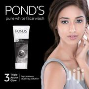 Pond's Pure White Anti Pollution With Activated Charcoal Facewash | Vitamins & Supplements for sale in Nairobi, Kileleshwa