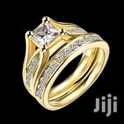 Gold Color Double Rings for Women | Jewelry for sale in Nairobi, Karen
