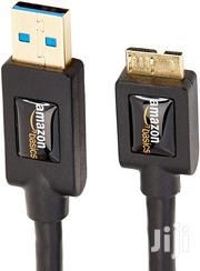 Amazonbasics USB 3.0 Charger Cable - A-male To Micro-b - 3 Feet | Computer Accessories  for sale in Nairobi, Parklands/Highridge