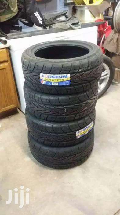 245/45/17 Forceum Tyres Is Made In Indonesia