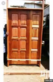 Mahogang Door Fixed With Frame And Painted | Doors for sale in Nairobi, Pumwani