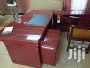 Brown Executive Desk With Drawers for Storage | Furniture for sale in Nairobi, Kilimani