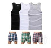 3 In 1 Vests Plus Cotton Boxers | Clothing for sale in Nairobi, Nairobi Central