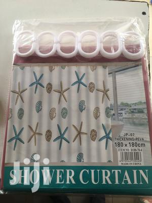 Shower Curtains Available.