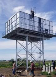 Steel Tank On Steel Tank Tower High Capacity Commercial Water Supply | Other Repair & Constraction Items for sale in Kitui, Kyuso