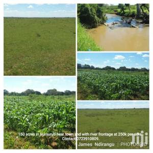 150 Acres In Rumuruti Near Town With River Frontage At 250k Per Acre