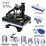 Fame New Design 8 In 1 Combo Heat Press Machine Sublimation | Printing Equipment for sale in Nairobi, Nairobi Central