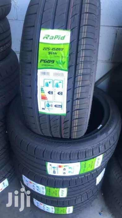 225/45/17 Rapid Tyres Is Made In China