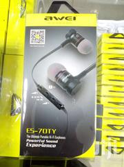 Awei Earphone  Es_70ty Stereo And  Extra Bass | Headphones for sale in Nairobi, Nairobi Central