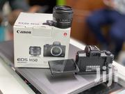 Canon EOS M50 Mirrorless Camera With 15-45mm Lens 3 Months Old | Photo & Video Cameras for sale in Nairobi, Nairobi Central
