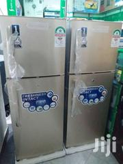 New Arrivals Brand New Mika Gold Color Fridge Double Doors | Kitchen Appliances for sale in Mombasa, Bamburi
