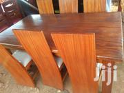 Six Seater Solid Mahogany Dinning Table | Furniture for sale in Nairobi, Karen