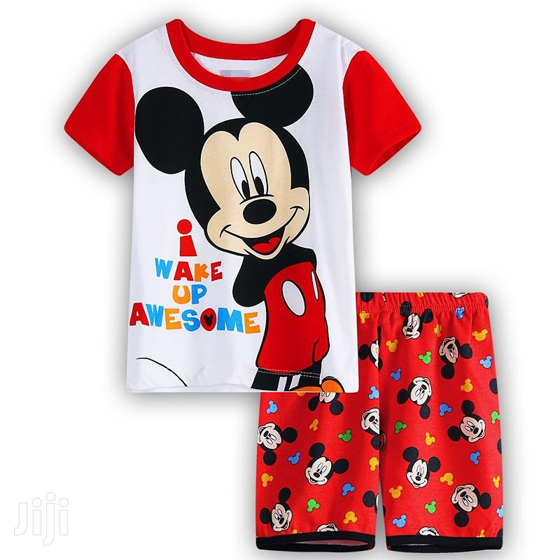 Mickey Mouse Cartoon Clothing Sets for Kids