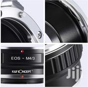 K&F Concept Lens Mount Adapter For Canon EOS EF Lens To M43 Cameras | Accessories & Supplies for Electronics for sale in Nairobi, Nairobi Central