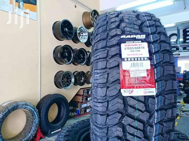 285/60/18 Radar Tyre's Is Made In Indonesia
