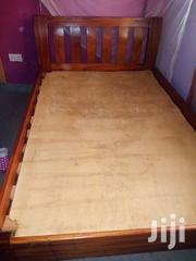 Mahogany Bed 4*6 With Ply Wood Board | Furniture for sale in Nairobi, Njiru