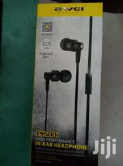 Awei Es_500i  Earphone Genuine | Headphones for sale in Homa Bay, Mfangano Island