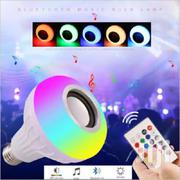 12W LED Wireless Bluetooth  Light Bulb Music Speaker+ Remote | Home Accessories for sale in Nairobi, Nairobi Central