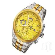Casio Golden Dial Watch With Stainless Steel Straps | Watches for sale in Nairobi, Nairobi Central