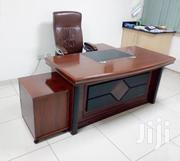 Executive Desk 1.6meter Mahogany Finish Ksh 32,000 With Free Delivery | Furniture for sale in Nairobi, Nairobi West