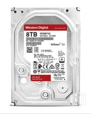 WD RED WD80EFRX  8TB 3.5 Inches 6gb/S 64MB Internal Hard Drive Nas | Computer Hardware for sale in Nairobi, Imara Daima