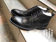 Black Leather Oxford Boots | Shoes for sale in Nairobi, Nairobi Central
