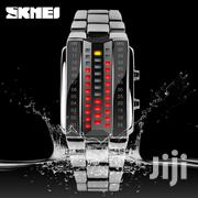 Skmei 1013 LED Watch Stainless Steel Strap | Watches for sale in Nairobi, Nairobi Central