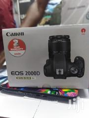 Canon EOS 2000D 24.1MP Wi-Fi With 18-55 Lens IS II | Photo & Video Cameras for sale in Nairobi, Nairobi Central