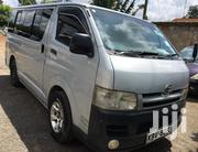 Toyota Hiace 7l 2010 Silver | Buses & Microbuses for sale in Nairobi, Nairobi Central
